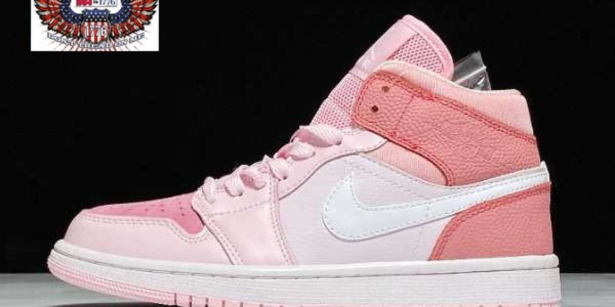 Do you like this pair of pink Air Jordan 1 Mid?