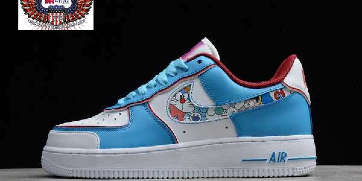 All New Nike Air Force 1 Low x Doraemon 2021