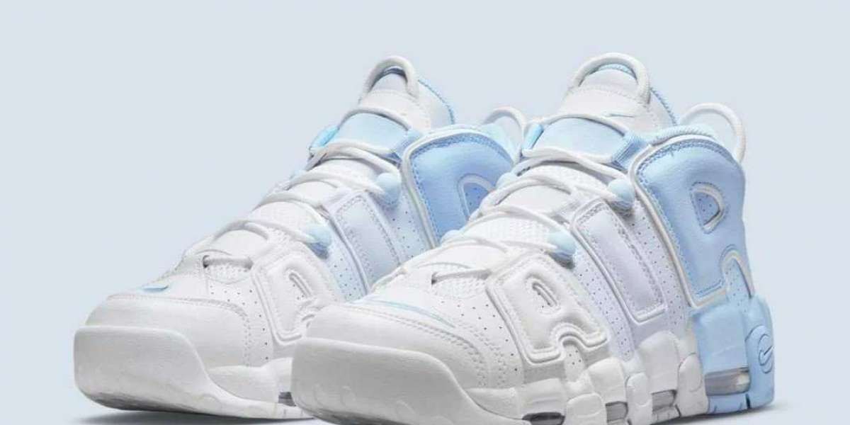 "Nike Air More Uptempo debuts in the ""sky blue"" color scheme, reminiscent of the OG color scheme"